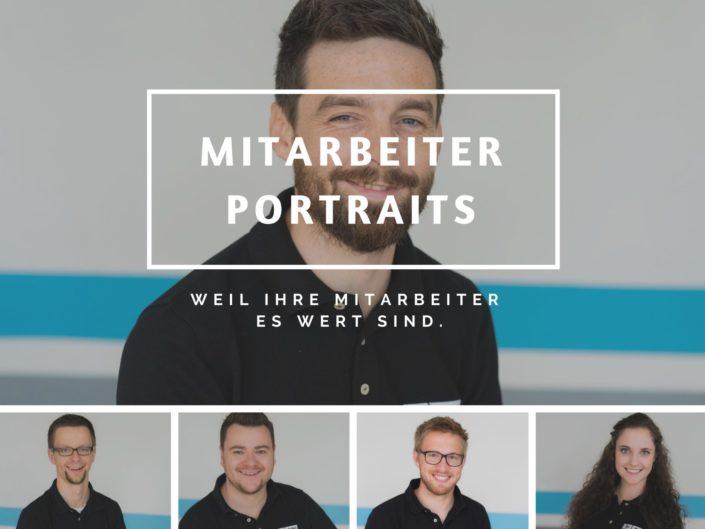 Mitarbeiter-Portraits