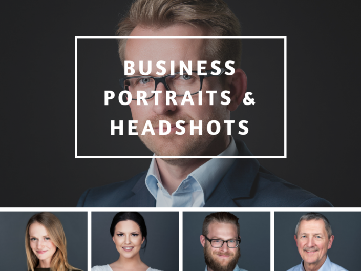 Business Portraits & Headshots